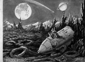 Le voyage dans la Lune (© Georges Méliès : Collection cinémathèque française)