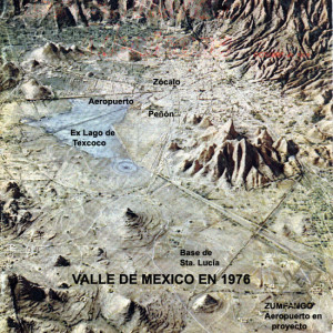 Vallée de Mexico - 1976