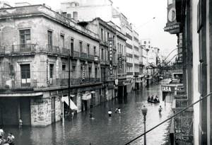inondation de 1951 - Centre historique